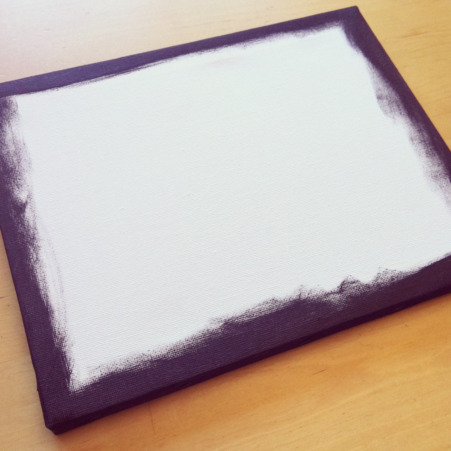 Mounting photo to canvas tutorial A great handmade gift for under $5.00 9
