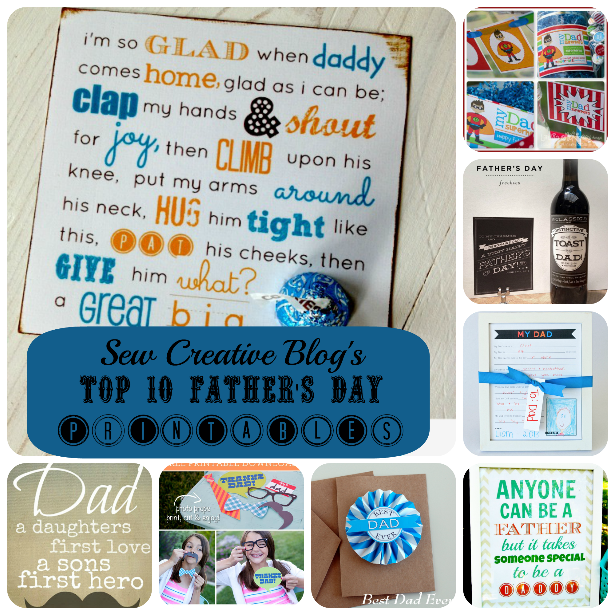 Top 10 Father's Day Printables