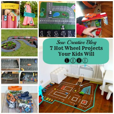 Weekly Inspiration- 7 Hot Wheel Projects for Kids
