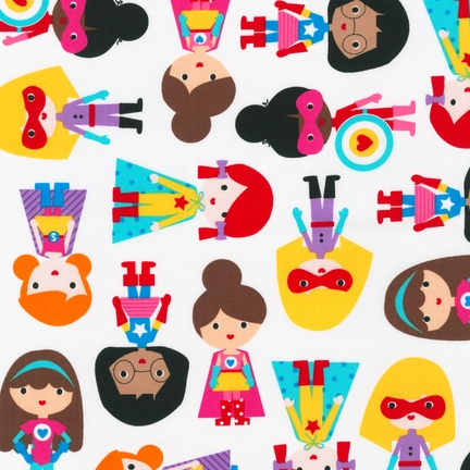 Ann Kelle Super Kids Primary fabric for Robert Kaufman
