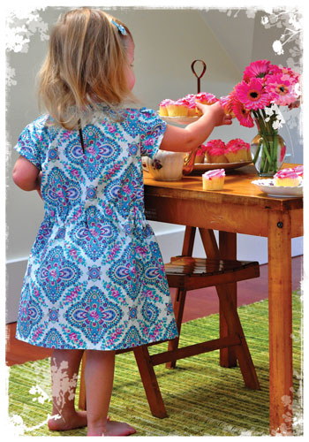 Little Shift Dress Favorite Things Pattern Designs