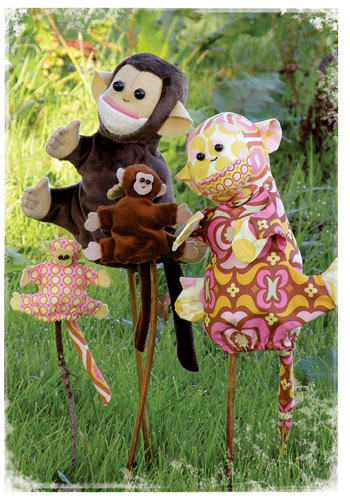 Monkey Business Hand and Finger Puppets