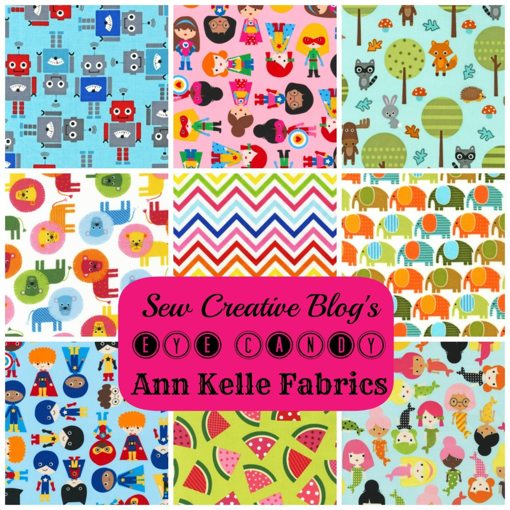 Sew Creative Eye Candy Featuring Ann Kelle Fabrics for Robert Kaufman