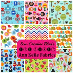 Eye Candy- Ann Kelle Fabric Super Kids Collection