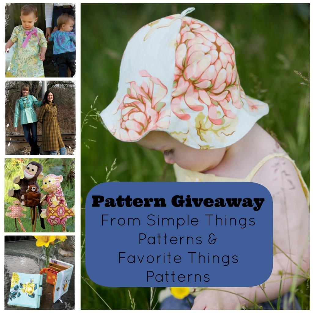 Simple Things Patterns & Favorite Things Patterns Giveaway