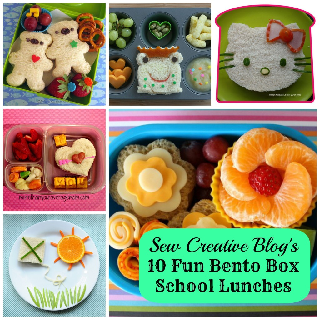 weekly inspiration 10 fun bento box school lunches hello creative family. Black Bedroom Furniture Sets. Home Design Ideas