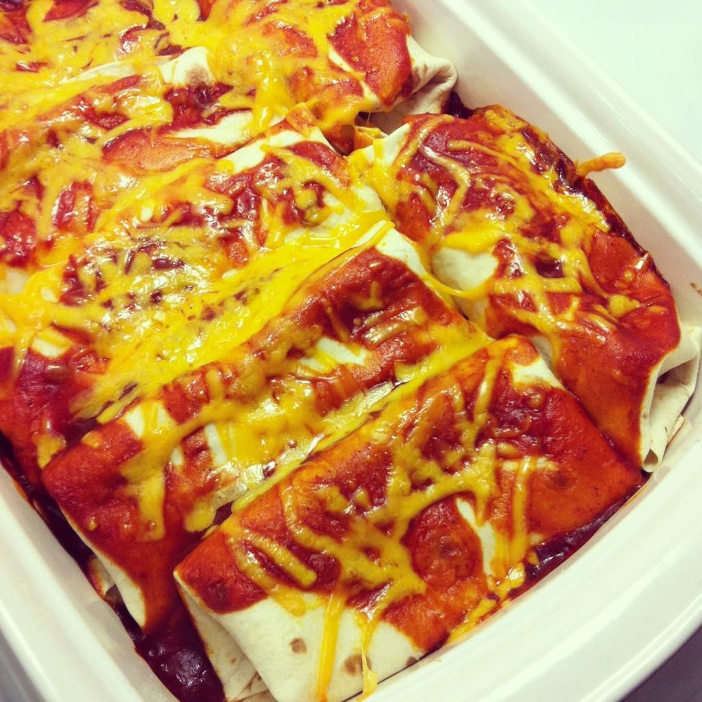 Honey Lime Chicken Enchilada Recipe from Sew Creative