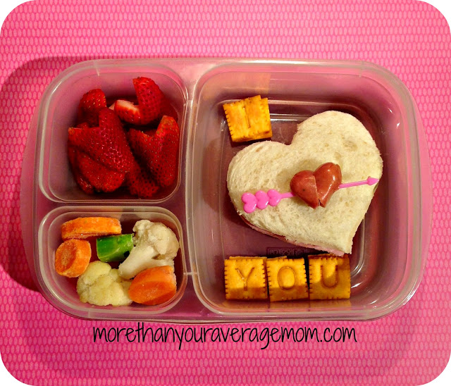 I heart you bento lunch