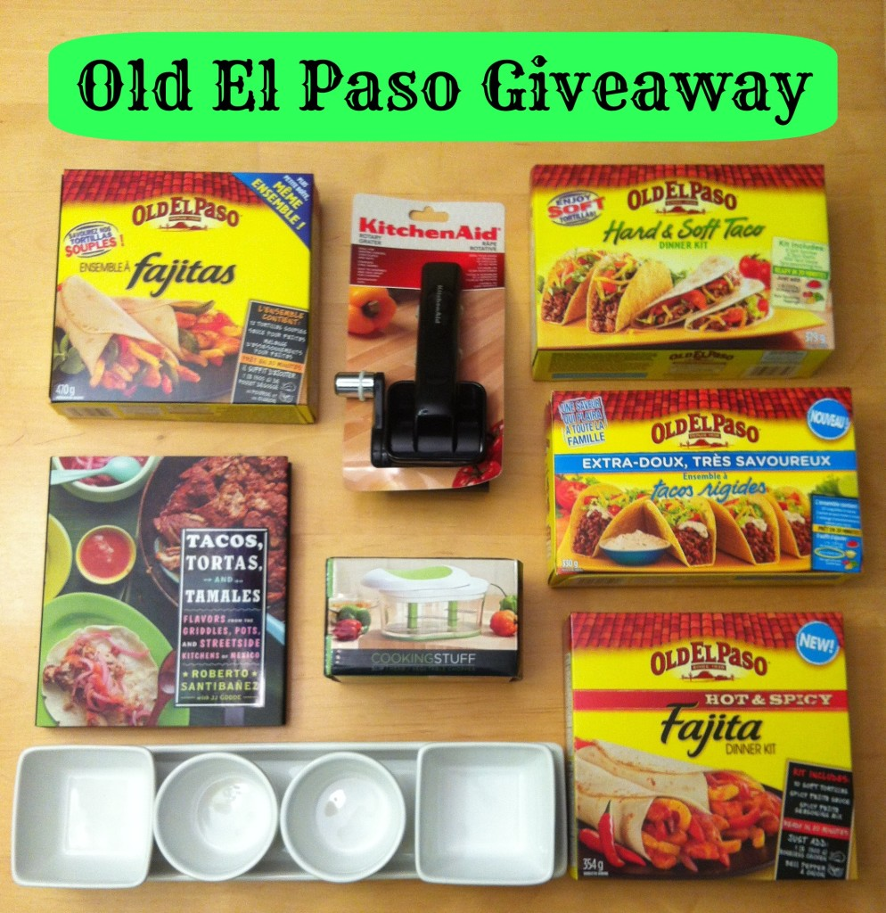 Old El Paso Giveaway From Sew Creative Blog