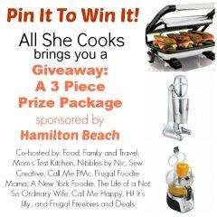 Wonderful Food Link Party & Hamilton Beach Giveaway