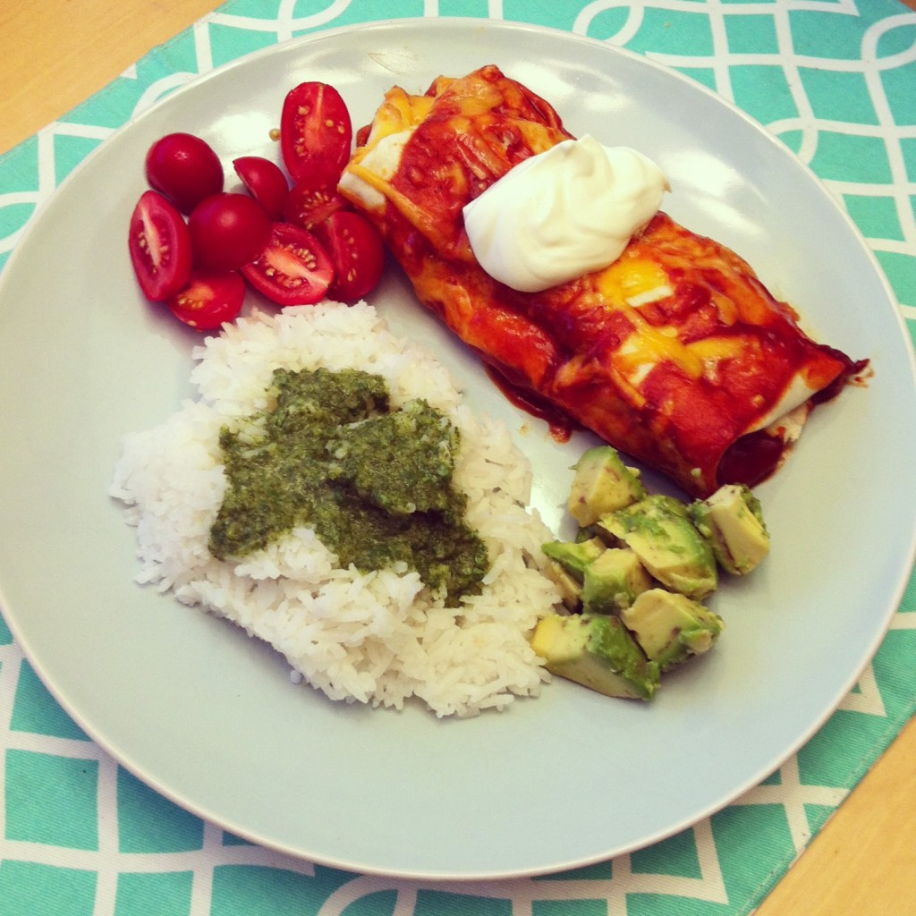 Super Yummy Honey Lime Chicken Enchilada Recipe from Sew Creative