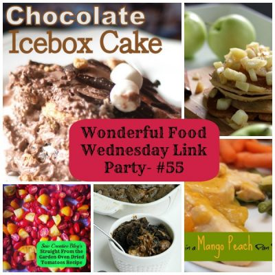 #55- Wonderful Food Wednesday Link Party