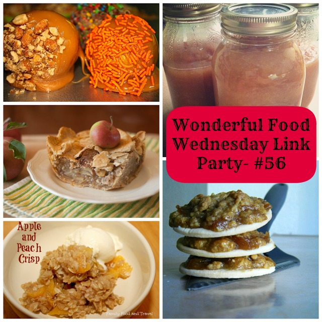Wonderful Food Wednesday Link Party- #56