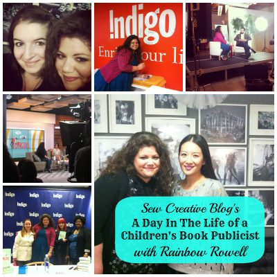 A Day In The Life of a Children's Book Publicist with Rainbow Rowell