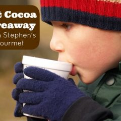$50 Hot Cocoa Giveaway from Stephen's Gourmet