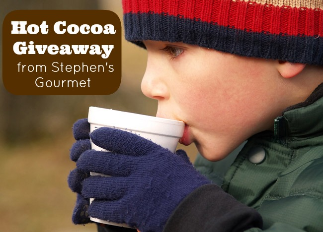 Hot Cocoa Giveaway from Stephen's Gourmet