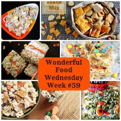 Wonderful Food Wednesday Link Party- Week 59