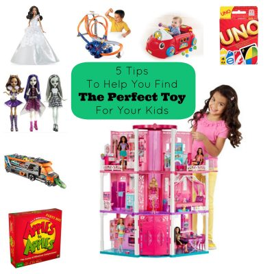 5 Tips to Help You Find The Perfect Toy For Your Kids
