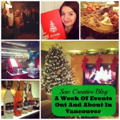A Week of Events Out and About In Vancouver