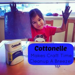 Cottonelle Makes Craft Time Cleanup a Breeze