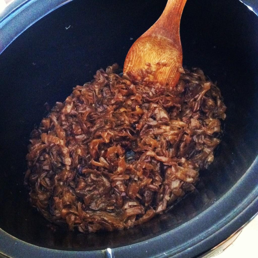 Crockpot Caramelized Onion Dip Recipe