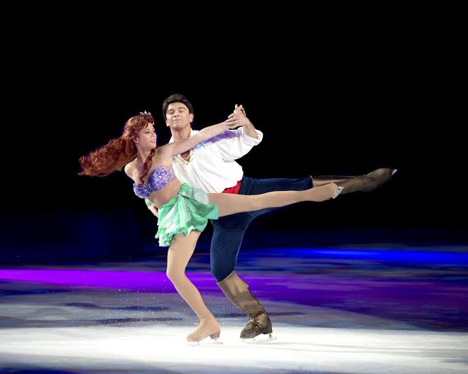 Disney On Ice Ariel and Eric