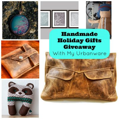 Handmade Holiday Gifts Giveaway with My Urbanware