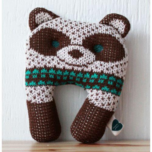 Olivier Brown Raccoon Toy