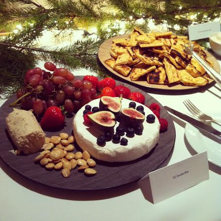 PC Holiday Insider Event Cheese Plate