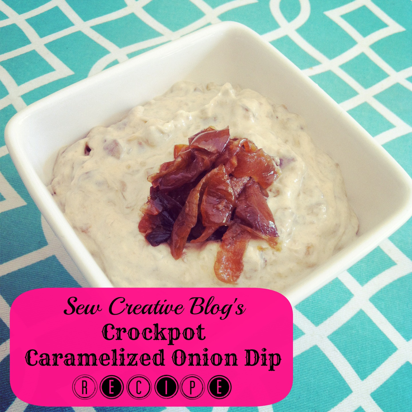 Crockpot Caramelized Onion Dip Recipe