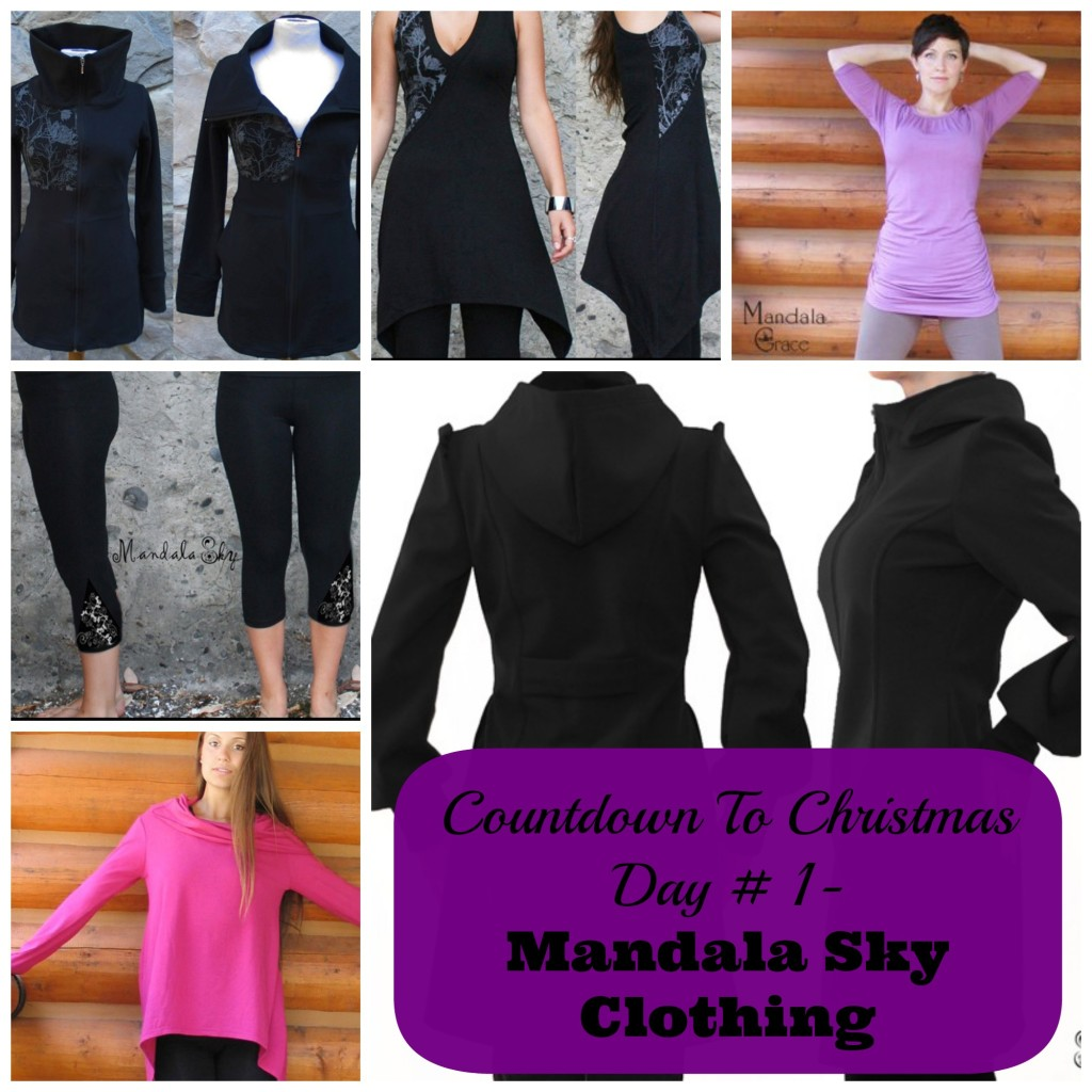 Sew Creative Countdown To Christmas Day 1 Mandala Sky Clothing
