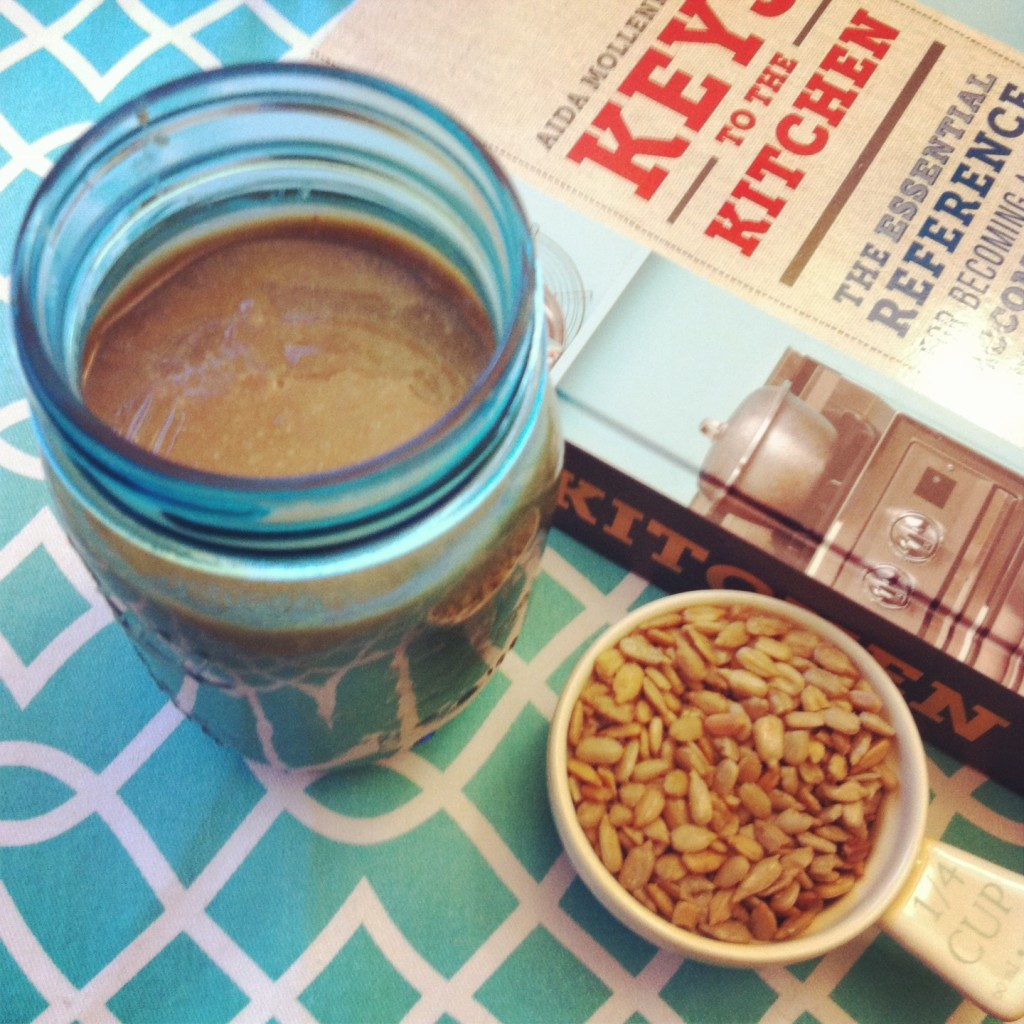 Sun Flower Seed Butter Recipe a nut free peanut butter alternative