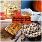 Wonderful Food Wednesday Week 63 Pies