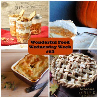 Wonderful Food Wednesday Week #63