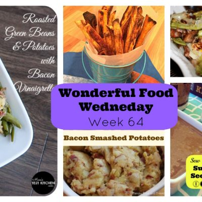 Wonderful Food Wednesday Link Party #64