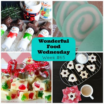 Wonderful Food Wednesday Link Party #65