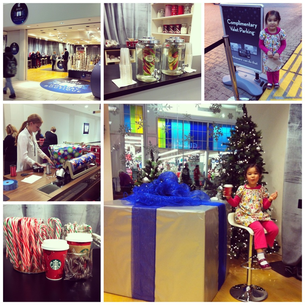 Braving The Mall on Black Friday with RBC Avion Holiday Boutique VIP Lounge