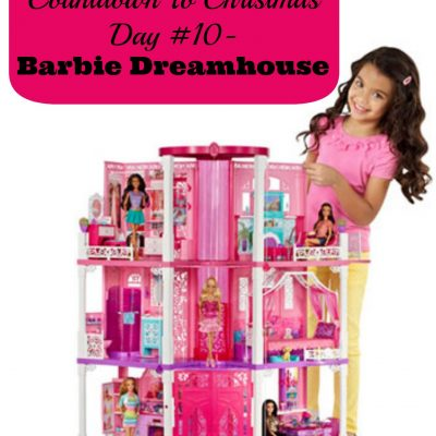 Countdown To Christmas Day 10- Barbie Dreamhouse from @Mattel (Gifts for Kids)