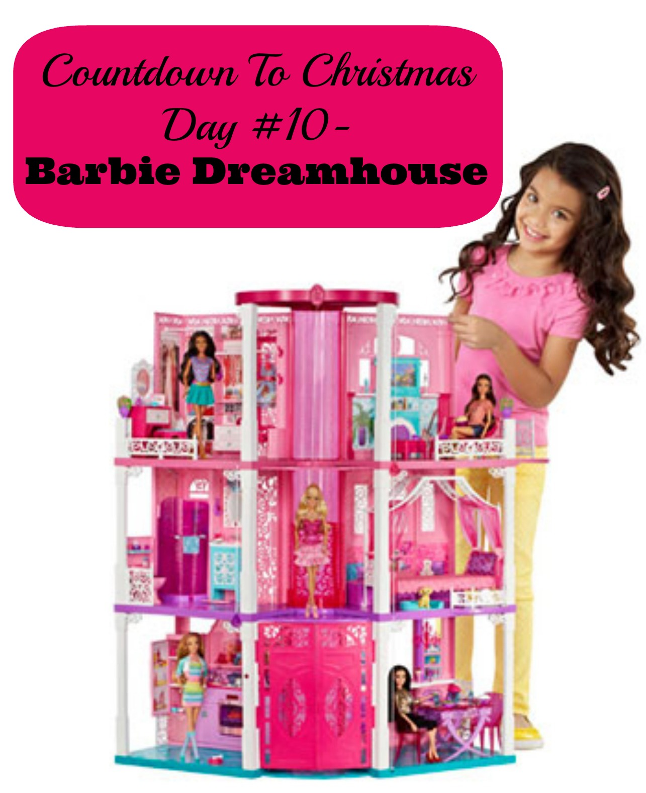 Countdown To Christmas Day 10- Barbie Dreamhouse from @Mattel (Gifts ...