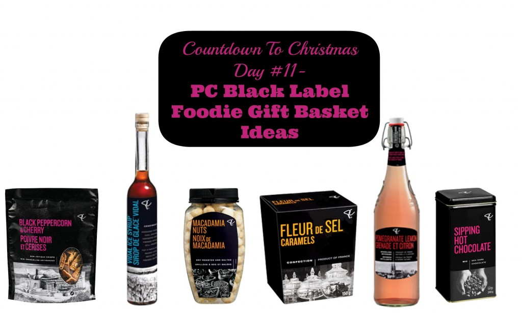 Countdown To Christmas Day 11- Great Ideas for Creating a Foodie Gift Basket