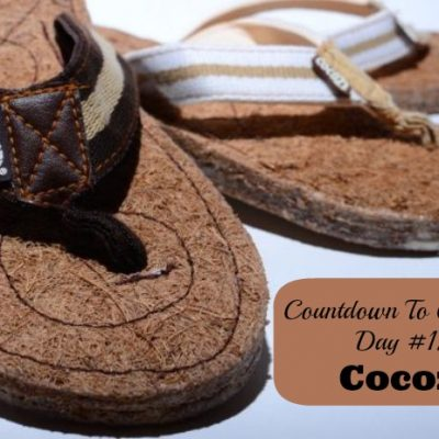 Countdown To Christmas Day 12- @CocozeShoes Coconut Fibre Flip Flops (Gifts for Him and Her)