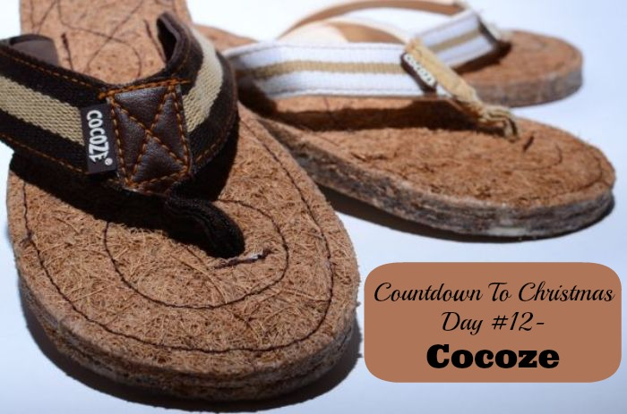 Countdown To Christmas Day 12- @Cocoze Coconut Fibre Flip Flops (Gifts for Him and Her)
