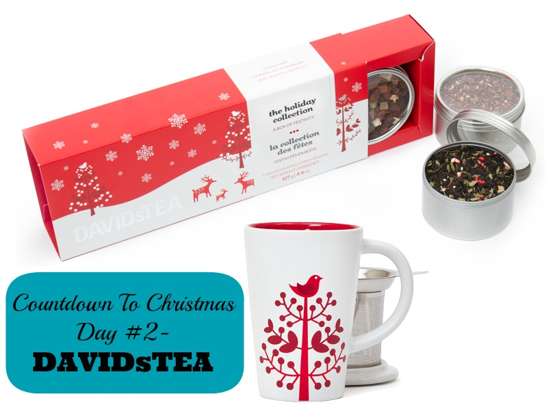 Countdown To Christmas Day 2 DAVIDsTEA GIfts for Foodies