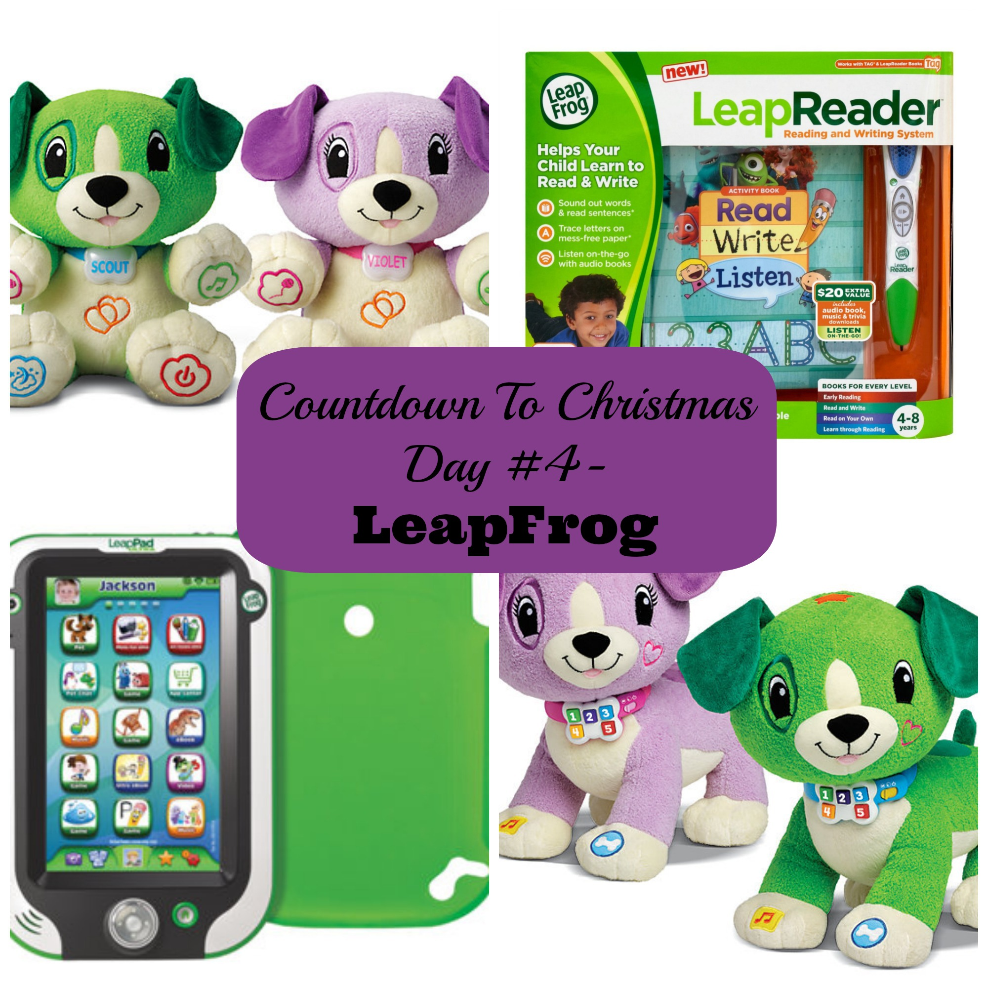 Countdown To Christmas Day 4 Educational Toys from LeapFrog