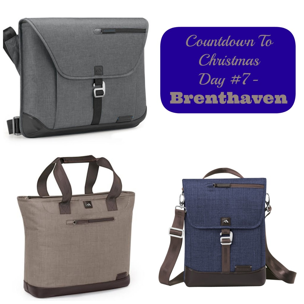 Countdown To Christmas Day 7- @BrenthavenNews Laptop Bags Gift Ideas for Him and Her