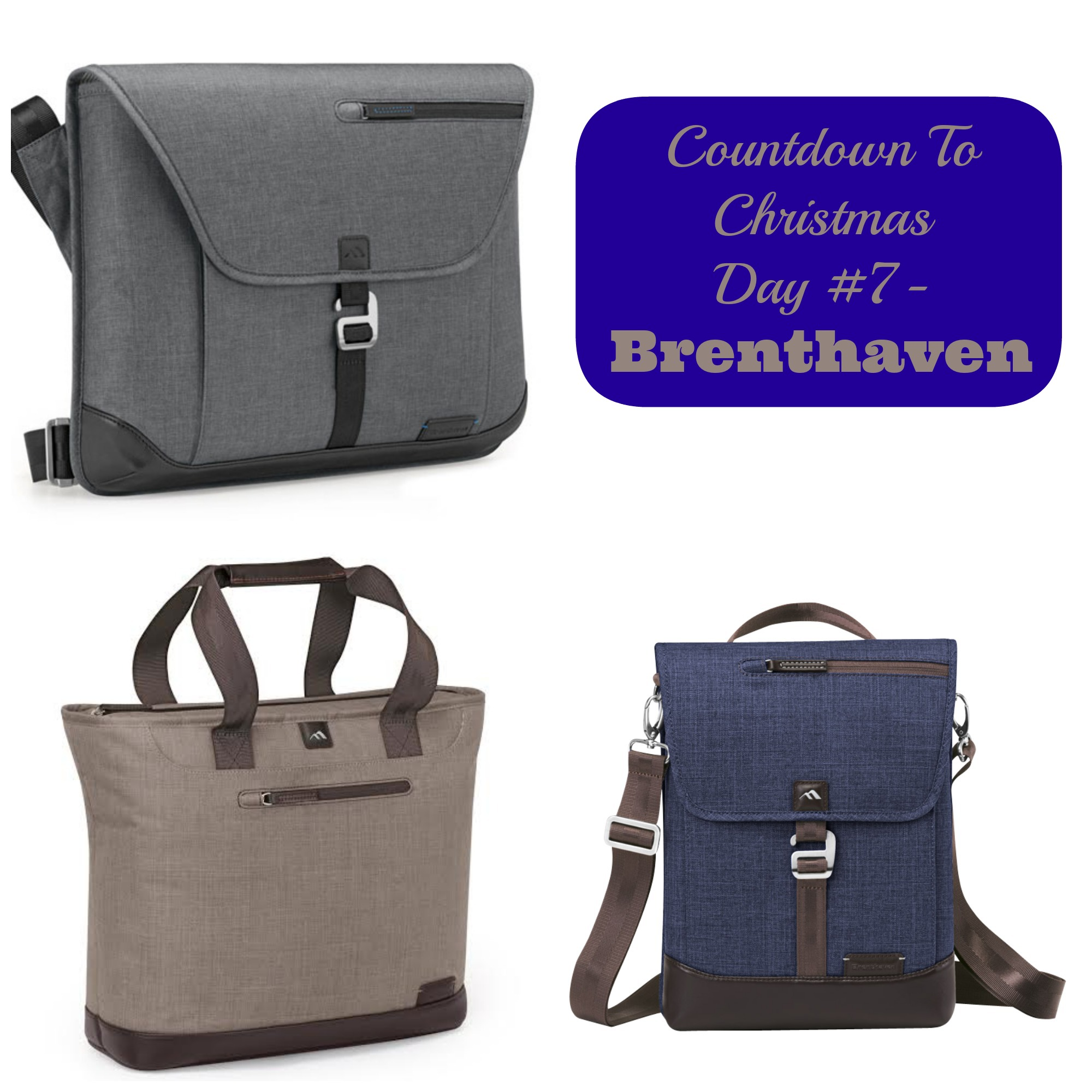 Countdown To Christmas Day 7- @BrenthavenNews Laptop Bags (Gift ...