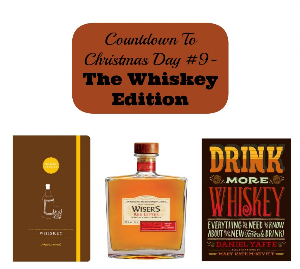 Countdown To Christmas Day 9- Whiskey Inspired Gifts for Him