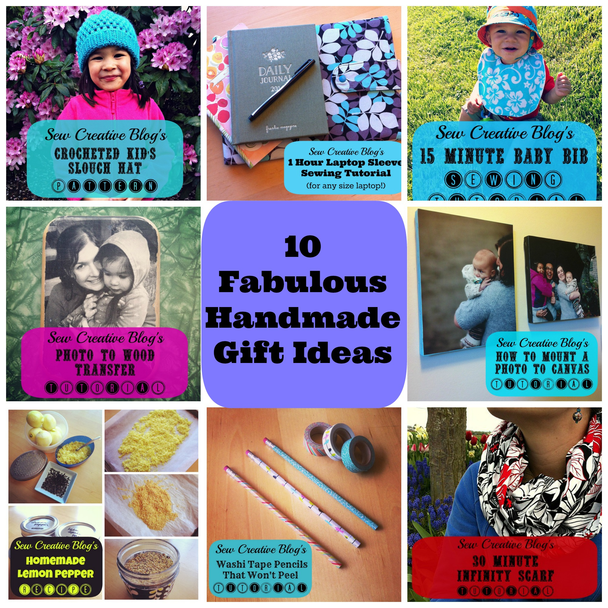 Countdown to Christmas Day 16- 10 Fabulous Handmade Gift Ideas ...