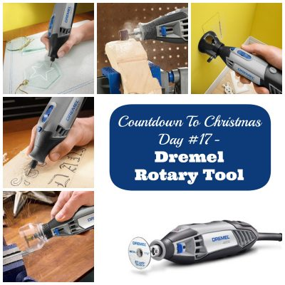 Countdown to Christmas Day 17- DIY Projects with Dremel Rotary Tool (Gift for Him & Crafters)