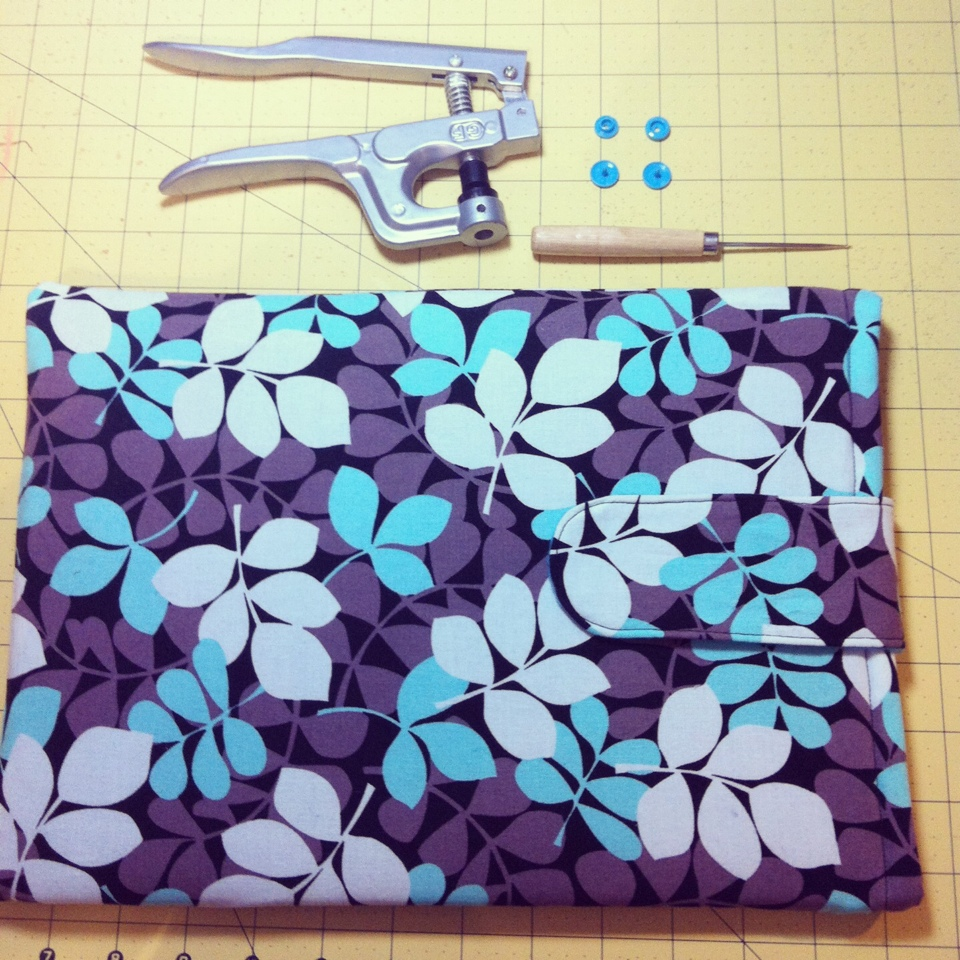 DIY 1 Hour Laptop Sleeve Sewing Tutorial 19